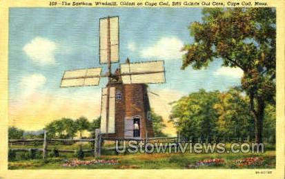 The Eastham Windmill - Cape Cod, Massachusetts MA Postcard
