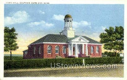 Town Hall, Eastham - Cape Cod, Massachusetts MA Postcard