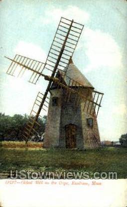 Mill, Eastham - Cape Cod, Massachusetts MA Postcard