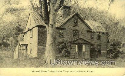 Orchard House - Concord, Massachusetts MA Postcard
