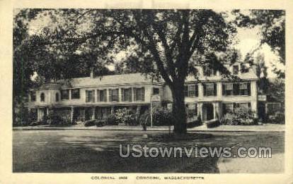 Colonial Inn - Concord, Massachusetts MA Postcard