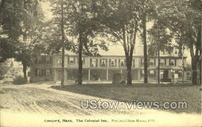 The Colonial Inn - Concord, Massachusetts MA Postcard