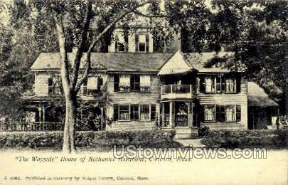 House of Nathaniel Hawthorne - Concord, Massachusetts MA Postcard