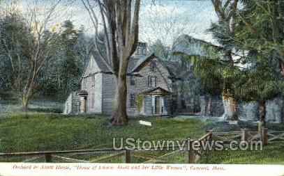 Alcott or Orchard House - Concord, Massachusetts MA Postcard