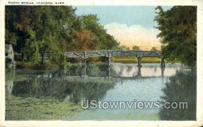North Bridge - Concord, Massachusetts MA Postcard