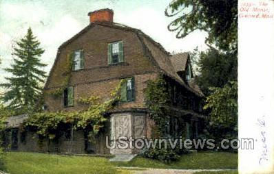 The Old Manse - Concord, Massachusetts MA Postcard