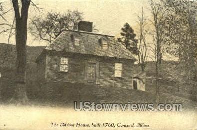 The Minot House - Concord, Massachusetts MA Postcard