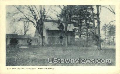 The Old Manse - Concord, Massachusetts MA Postcard