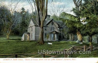 Orchard or Alcott House - Concord, Massachusetts MA Postcard