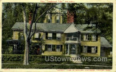 Tanglewood Tales - Concord, Massachusetts MA Postcard