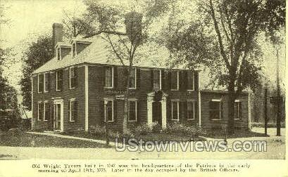 Old Wright Tavern - Concord, Massachusetts MA Postcard