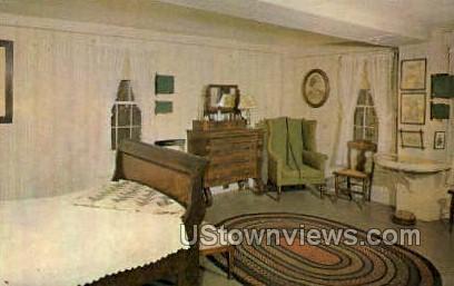 Louisa May Alcott's Room - Concord, Massachusetts MA Postcard