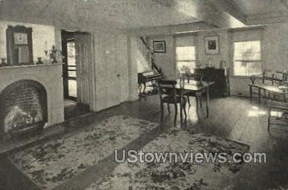 The Dining Room, Orchard House - Concord, Massachusetts MA Postcard