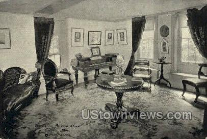 The Parlor, Orchard House - Concord, Massachusetts MA Postcard