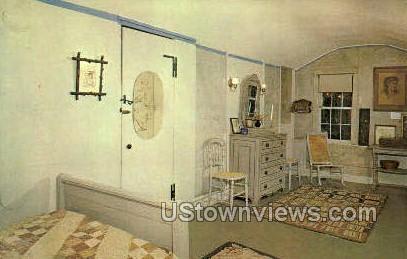 May Alcott's Room - Concord, Massachusetts MA Postcard