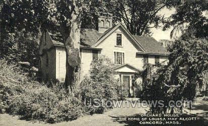 Home of Louisa May Alcott - Concord, Massachusetts MA Postcard