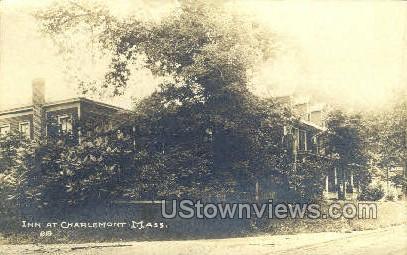 Real Photo - Inn at Charlemont - Massachusetts MA Postcard