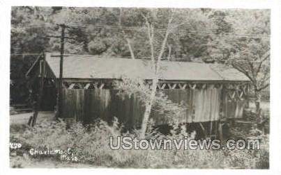 Real Photo -  - Charlemont, Massachusetts MA Postcard