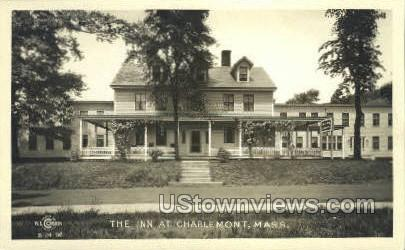 Real Photo - The Inn - Charlemont, Massachusetts MA Postcard