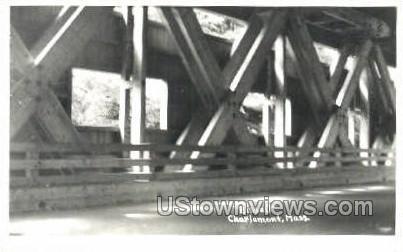 Real Photo - Bissell - Charlemont, Massachusetts MA Postcard