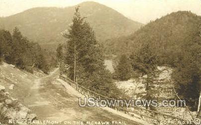 Real Photo - Mohawk Trail - Charlemont, Massachusetts MA Postcard