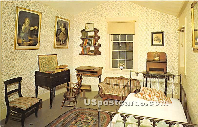The Nursery in the Alcott House - Concord, Massachusetts MA Postcard