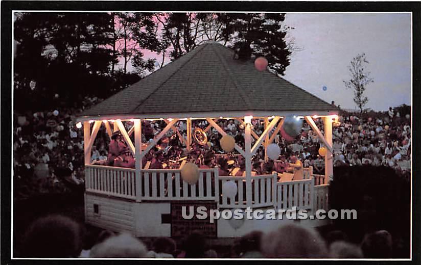 Chatham Bandstand - Massachusetts MA Postcard