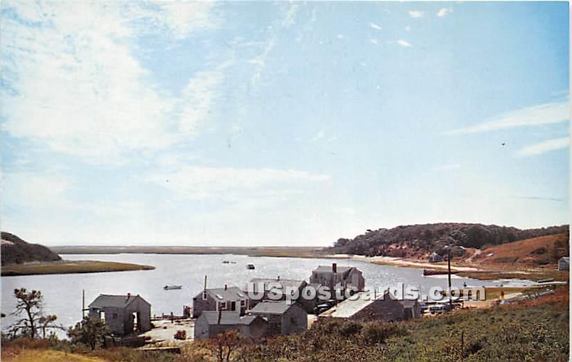 Oyster House - Chatham, Massachusetts MA Postcard