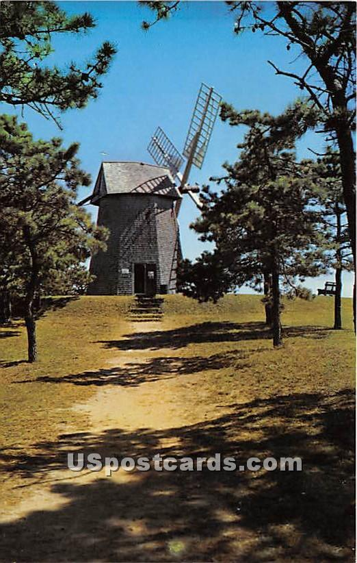 The Old Grist Mill - Cape Cod, Massachusetts MA Postcard