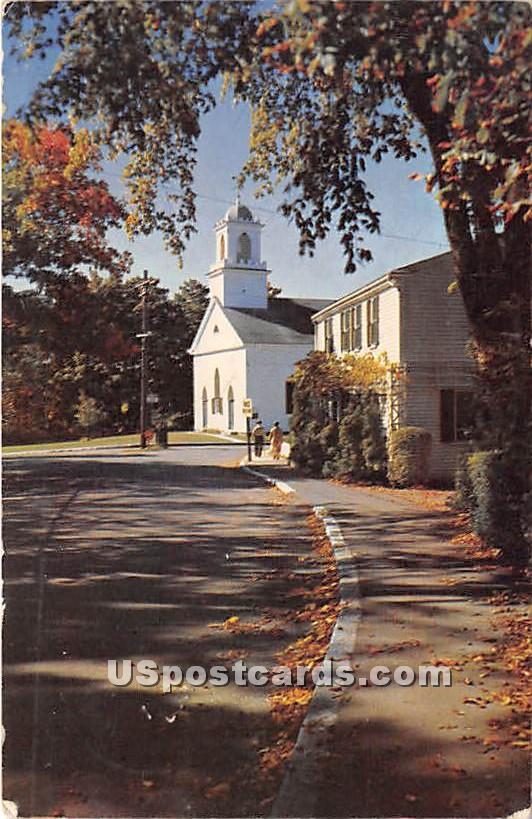Village Church at Annisquam - Cape Ann, Massachusetts MA Postcard