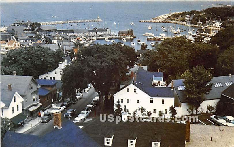 Rockport Harbor from the Old Sloop - Cape Ann, Massachusetts MA Postcard
