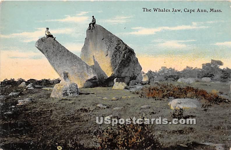 The Whales Jaw - Cape Ann, Massachusetts MA Postcard