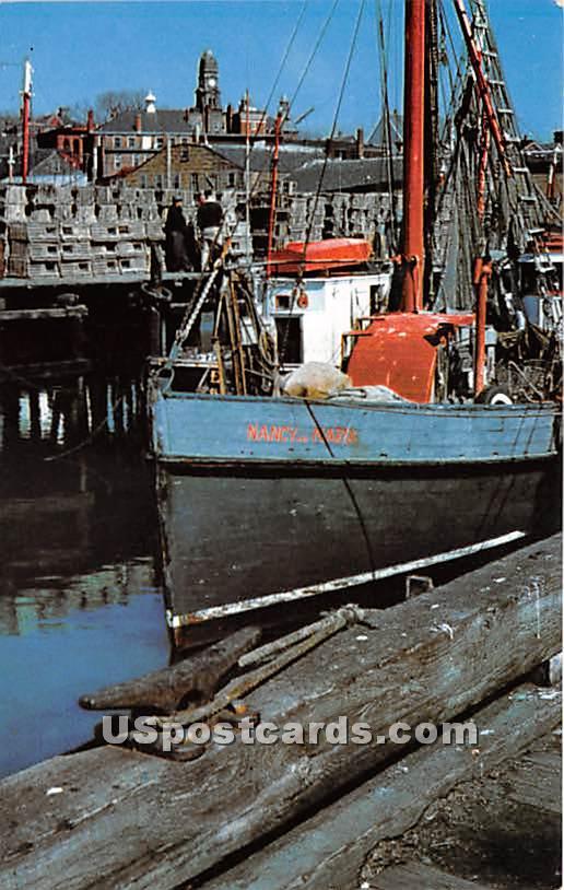 Ready for Sea at Gloucester - Cape Ann, Massachusetts MA Postcard
