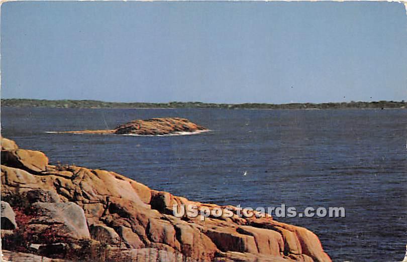 Magnolia known at Norman's Woe - Cape Ann, Massachusetts MA Postcard