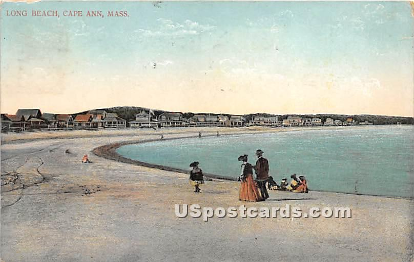 Long Beach - Cape Ann, Massachusetts MA Postcard