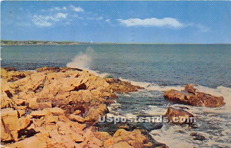 Bass Rocks, Gloucester - Cape Ann, Massachusetts MA Postcard