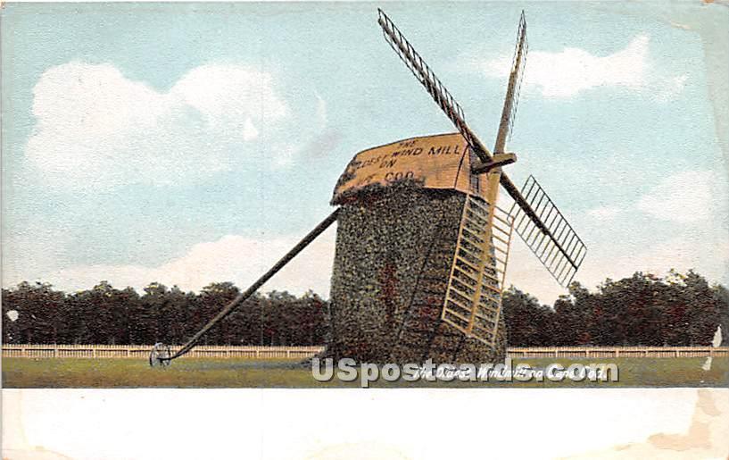 The Oldest Windmill - Cape Cod, Massachusetts MA Postcard