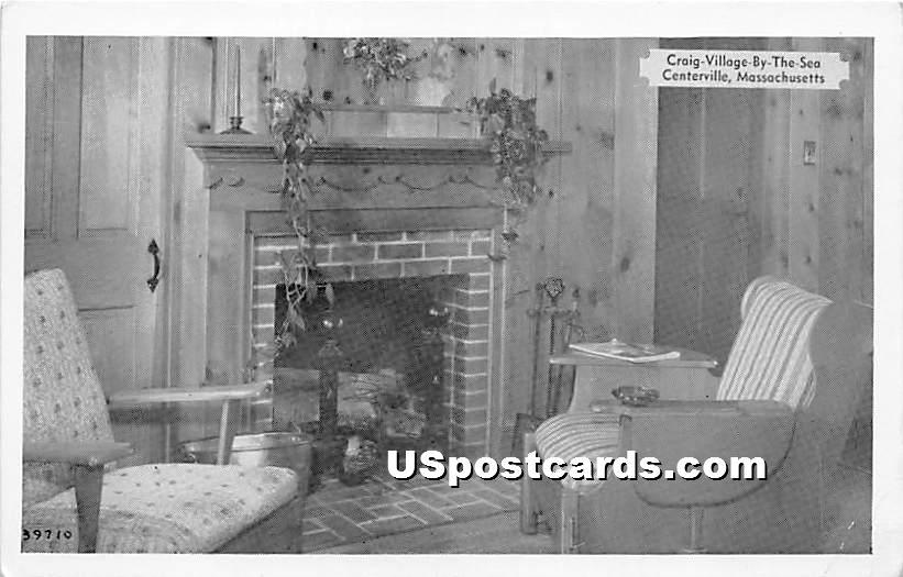 Craig Vilalge By The Sea - Centerville, Massachusetts MA Postcard