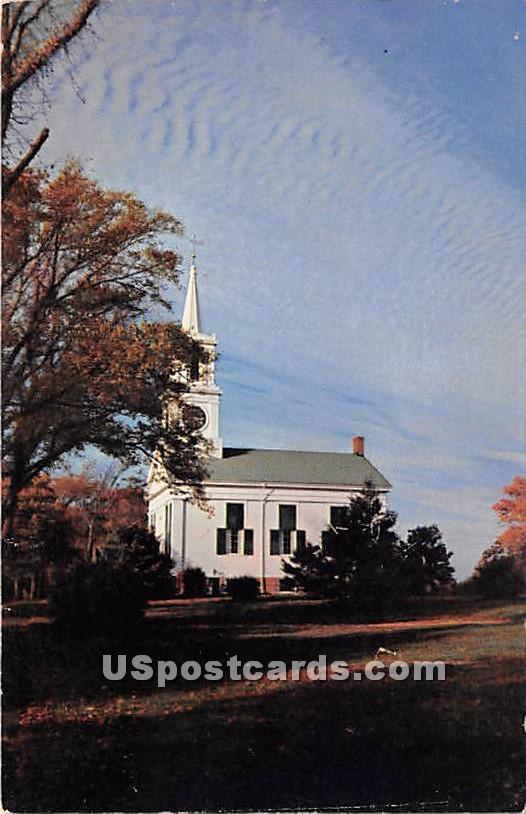 White Village Church - Centerville, Massachusetts MA Postcard