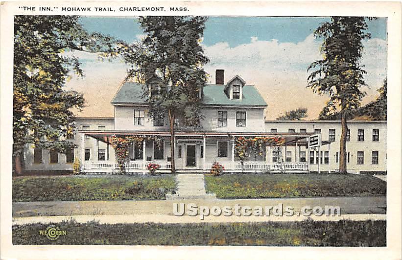 The Inn at Mohwak Trail - Charlemont, Massachusetts MA Postcard