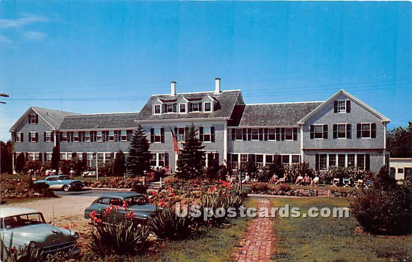 Queen Anne Inn - Chatham, Massachusetts MA Postcard