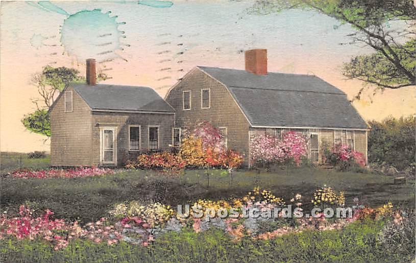 The Oldest House 1797 - Chatham, Massachusetts MA Postcard