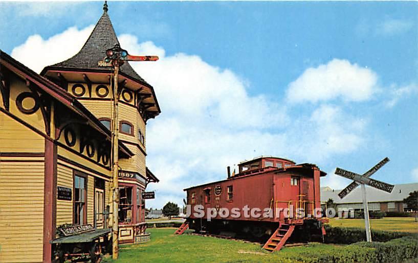 Railroad Museum Originally the Old Chatham Railroad Company Station - Massachusetts MA Postcard