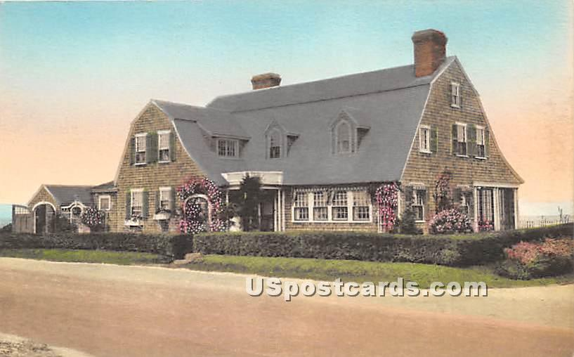 Summer Home of the Author Mr Joseph C Lincoln - Chatham, Massachusetts MA Postcard