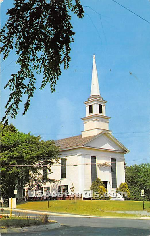 First Congregational Church of Chatham - Massachusetts MA Postcard