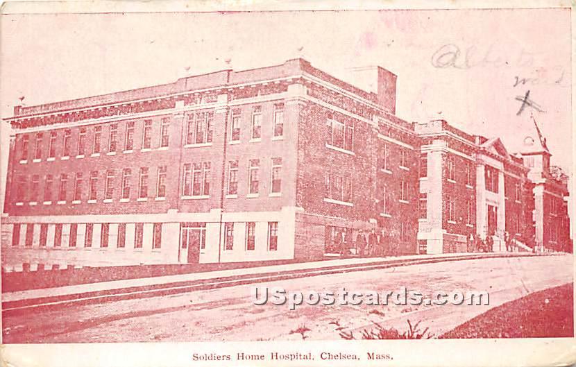 Soldiers Home Hospital - Chelsea, Massachusetts MA Postcard