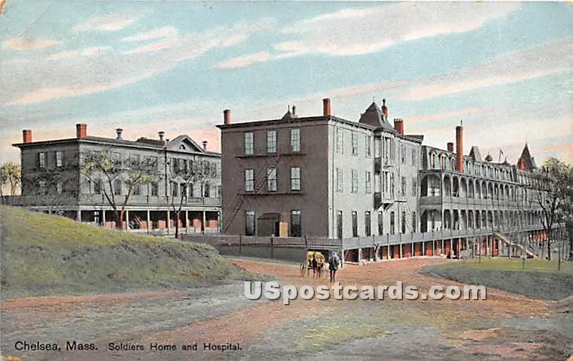 Soldiers Home & Hospital - Chelsea, Massachusetts MA Postcard