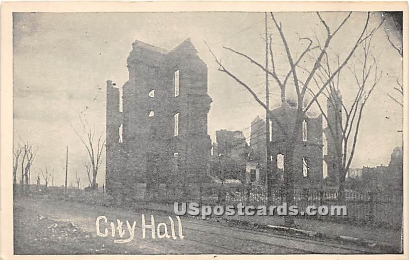City Hall - Chelsea, Massachusetts MA Postcard