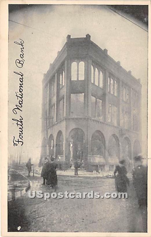 Fourth National Bank - Chelsea, Massachusetts MA Postcard