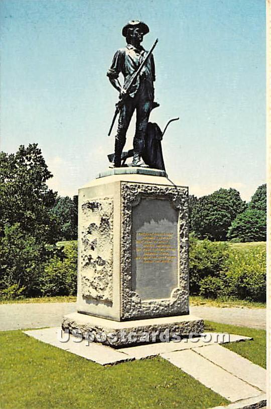 The Minute Man National Historical Park - Concord, Massachusetts MA Postcard